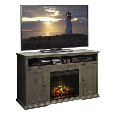 Darby Home Co Leverette TV Stand with Electric F..