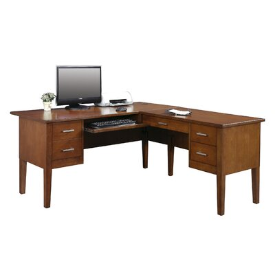 Darby Home Co Eaton Computer Desk with Return