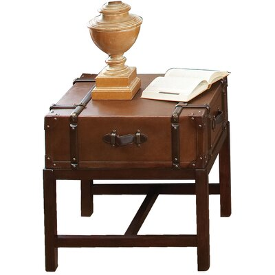 Darby Home Co Delavan Suitcase End Table