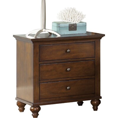 Darby Home Co Busse 3 Drawer Bachelor's Chest