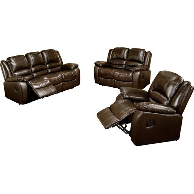 Darby Home Co Jorgensen Reclining Sofa and Chair Set