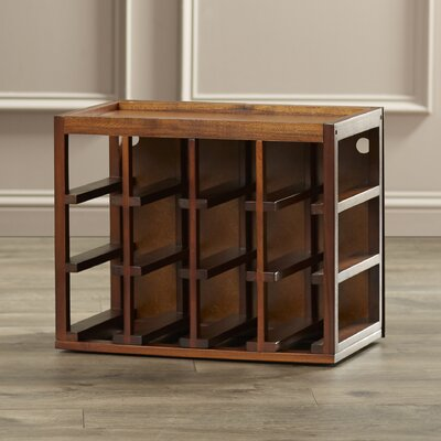 Darby Home Co Leopold 12 Bottle Tabletop Wine Rack