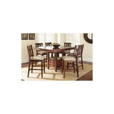 Darby Home Co Hannon 7 Piece Counter Height Dining Set