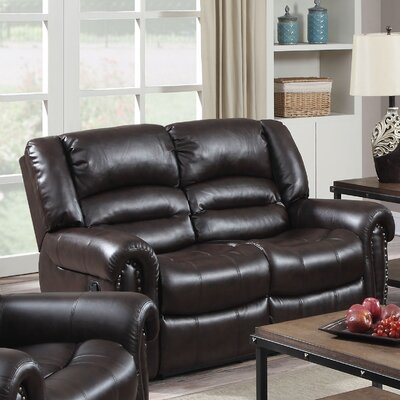 Darby Home Co  DRBC4012 Dover Reclining Loveseat