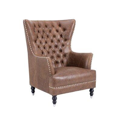 Darby Home Co Club Fredericksburg Arm Chair