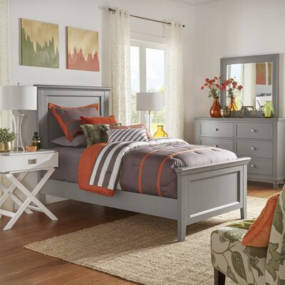 Darby Home Co Hillingdon Twin Panel Bed