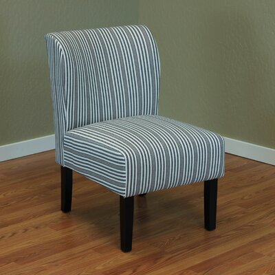 Darby Home Co Diana Stripe Upholstered Si..