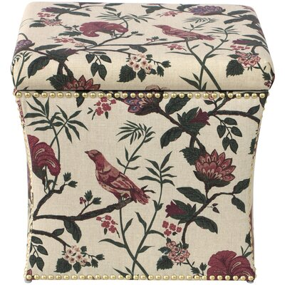 Darby Home Co Eliza Nail Button Storage Ottoman