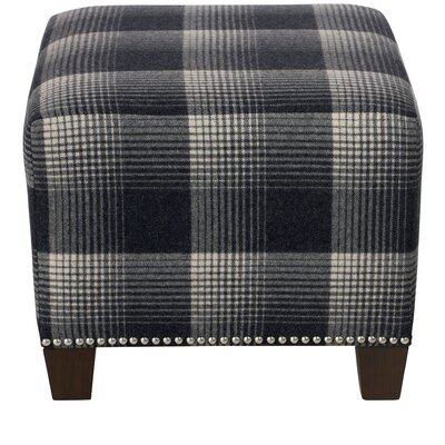 Darby Home Co Ellwood Square Nail Button Ottoman