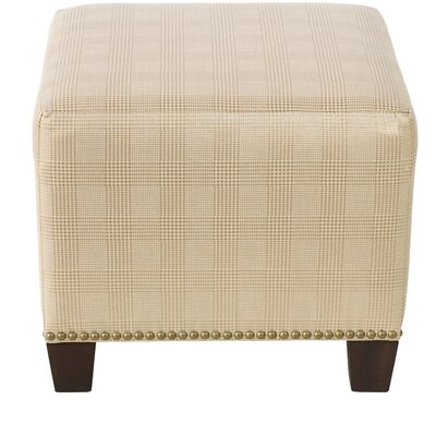 Darby Home Co Esmond Square Nail Button Ottoman Image