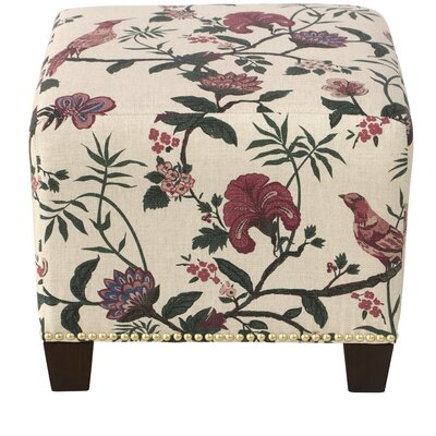 Darby Home Co Essex Square Nail Button Ottoman
