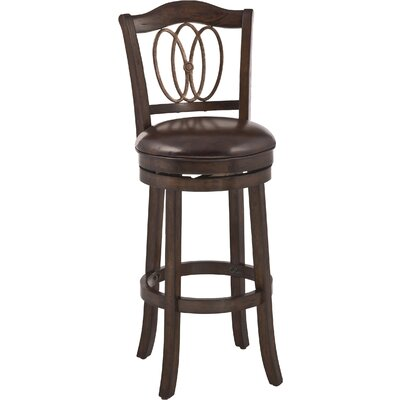 Darby Home Co Emelia Swivel Bar Stool