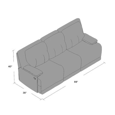 Darby Home Co Golston Reclining Sofa