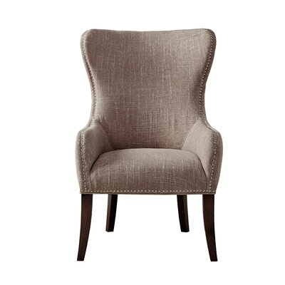 Darby Home Co Garrison Button Tufted Wingback Chair