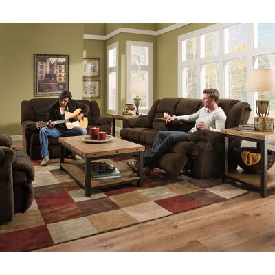 Darby Home Co Simmons Upholstery Mendes Double Motion Loveseat