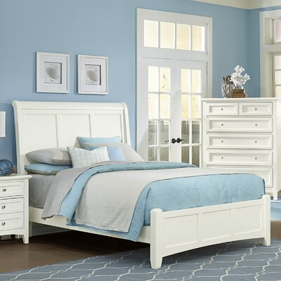 Darby Home Co Gastelum Wood Sleigh Bed
