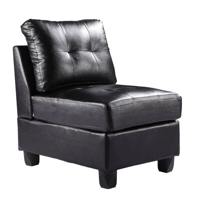 Darby Home Co Oregon Armless Slipper Chair