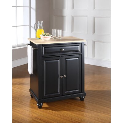 Darby Home Co Hanoverton Kitchen Cart