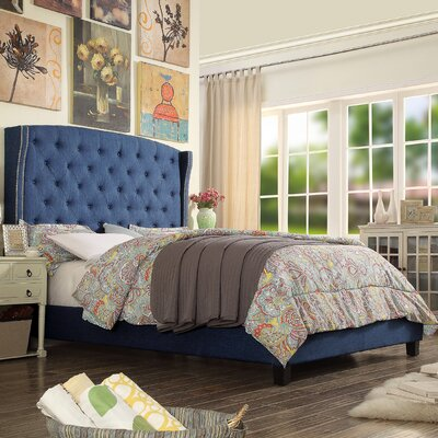 Darby Home Co Noblesville Upholstered Panel Bed