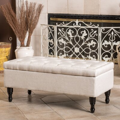 Darby Home Co Higginbotham Upholstered Storage Ottoman