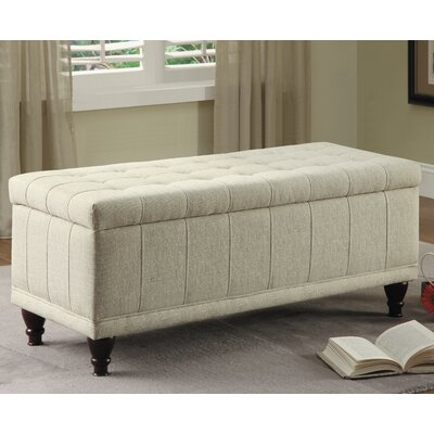 Darby Home Co Gilberts Fabric Storage Bench & Reviews | Wayfair