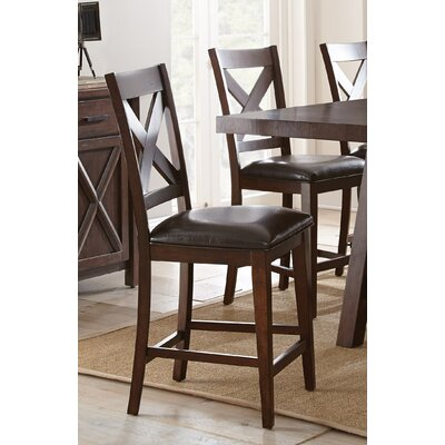 Alcott Hill Clapton Counter Height Side Chair (Set of 2)