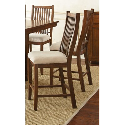 Alcott Hill Quaker Counter Height Side Chair (Set of 2)