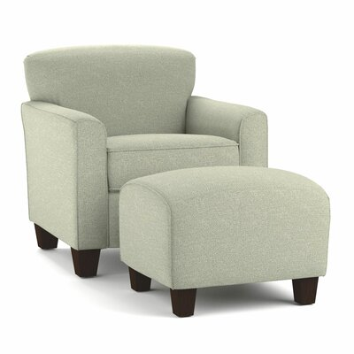 Alcott Hill Arm Chair & Ottoman Set