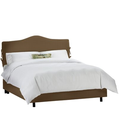 Alcott Hill Champer Upholstered Panel Bed
