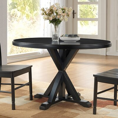 Alcott Hill Fanning X Base Dining Table