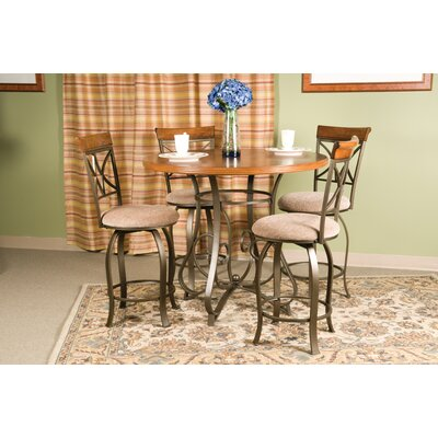 Andover Mills Burrill 5 Piece Counter Height Dining Set