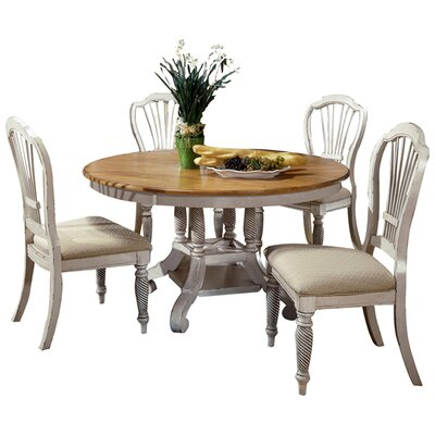 One Allium Way Halton 5 Piece Dining Set
