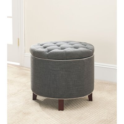 Alcott Hill Perrysburg Upholstered Storage Ottoman