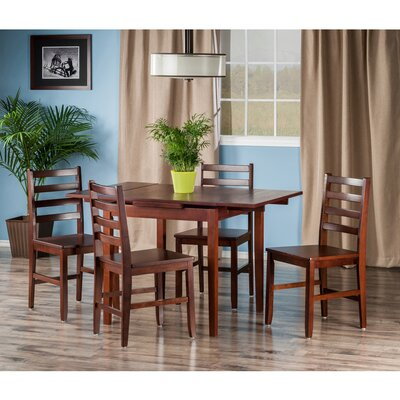 Alcott Hill Shaws 5 Piece Dining Set