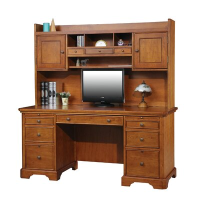 Alcott Hill Flat Top Computer Desk wit..
