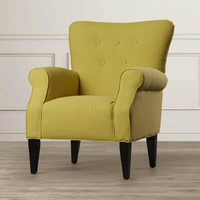 Alcott Hill Delia Neon Button Back Arm Chair