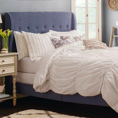 Alcott Hill Merrin Upholstered Panel Bed