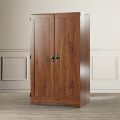 Alcott Hill Englewood Desk Armoire