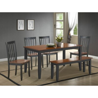 Alcott Hill Ann 6 Piece Dining Set