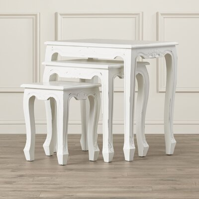 Alcott Hill Oliver 3 Piece Nesting Tables Image
