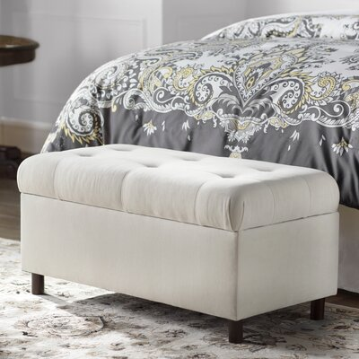 Alcott Hill Regal Upholstered Storage Bedroom Bench