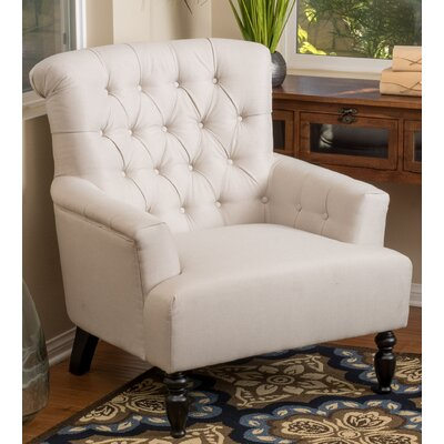 Alcott Hill Verona Tufted Fabric Club Chair