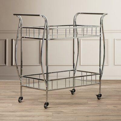 Alcott Hill Sandusky Serving Cart