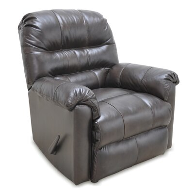 Alcott Hill Tennant Leather Rocker Recliner