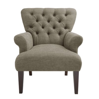 Alcott Hill Hillhouse Button Tufted Classic Arm ..