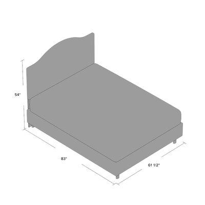 Alcott Hill Bloomfield Upholstered Panel Bed