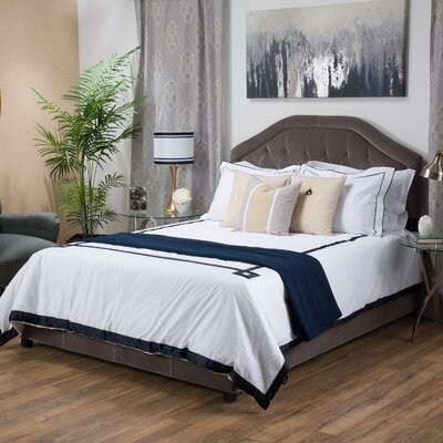 Alcott Hill Haverford Upholstered Panel Bed