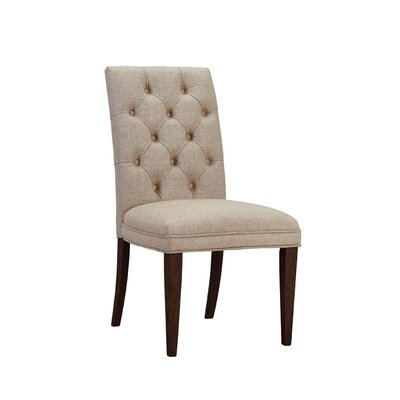 Alcott Hill Heintz Parsons Chair (Set of 2)