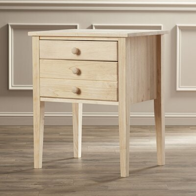 Charlton Home Lucretia Wood End Table
