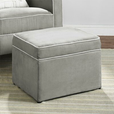 Charlton home kydwelly storage ottoman reviews wayfair for Storage charlton